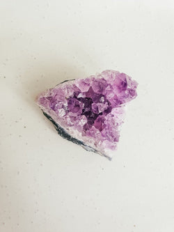 Amethyst Crystal Cluster - Unique Muscle