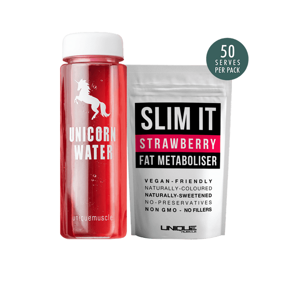 Unicorn-Water-Pack-Flavoured-Weight-Loss-Drink-Slim-It-Strawberry-Unique-Muscle