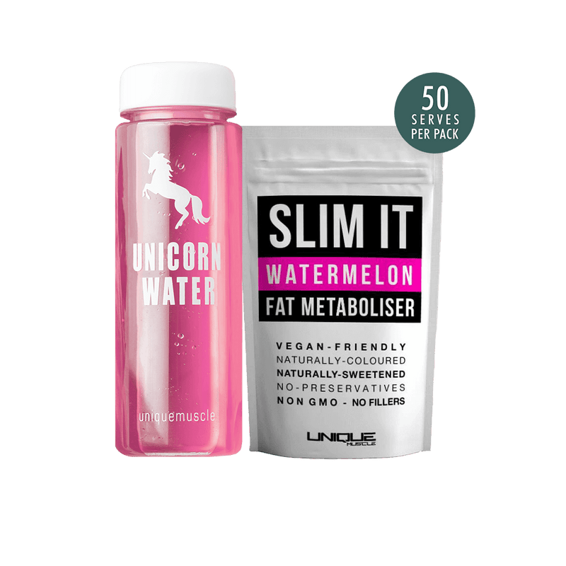 Unicorn-Water-Pack-Flavoured-Weight-Loss-Drink-Slim-It-Watermelon-Unique-Muscle