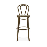Genuine No. 18 Bentwood High Back Stool
