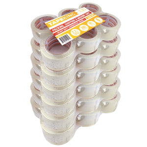 Tape King™ Packing Tape - 2.7mil Thick x 60yd - 36 Pack Case