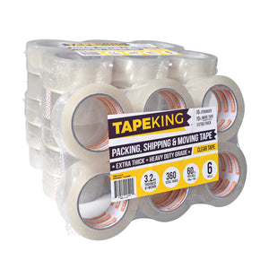 Tape King™ Packing Tape - 3.2mil Thick - 36 Roll Case
