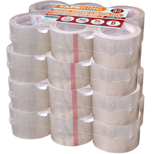 Tape King Packing Tape: 2.7mil Thick, 3 inch Wide, 24 Rolls, 60 Yards per Roll