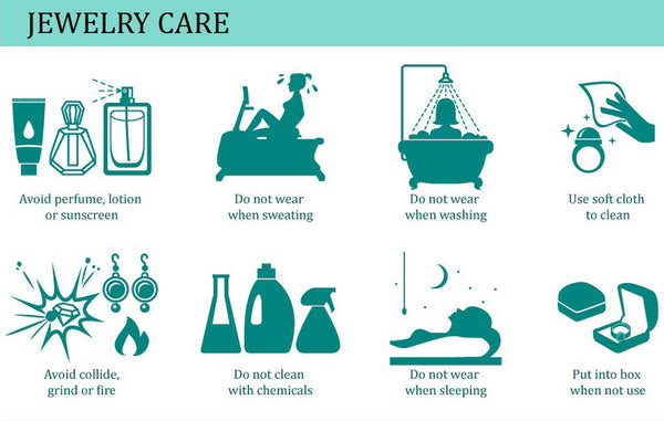 Jewelry Care Instructions