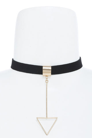 Triangle Choker Necklace