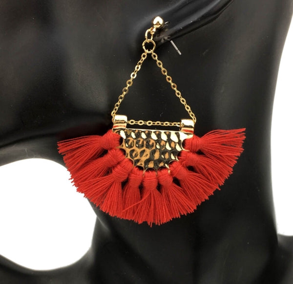 Red_Gold_Tassel_Earrings