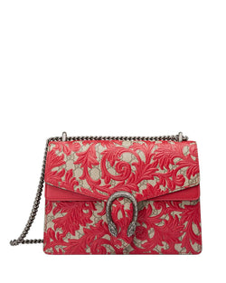 Gucci Dionysus Arabesque Shoulder Bag, Red