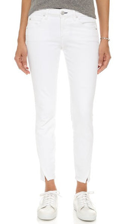 AMO Twist Side Slit Jeans