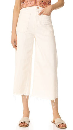 Free People Dawn to Dusk Crop Flare Jeans