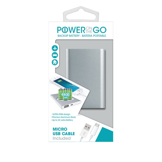 BATERÍA POWER ON THE GO UNIVERSAL 4400 MAH