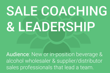 Sales Coaching and Leadership Course