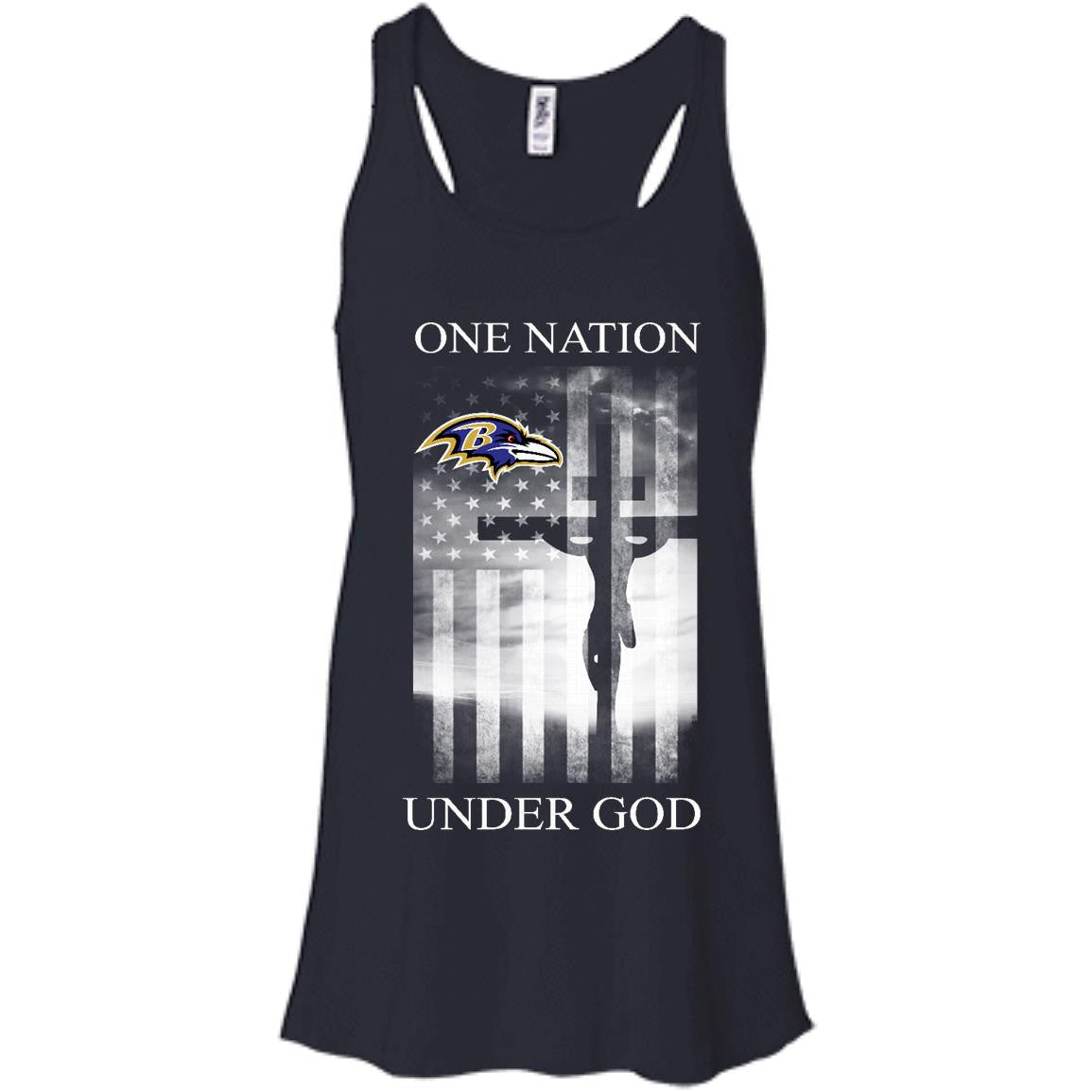 Baltimore Ravens Shirts One Nation Under God T-shirts Hoodies Sweatshirts