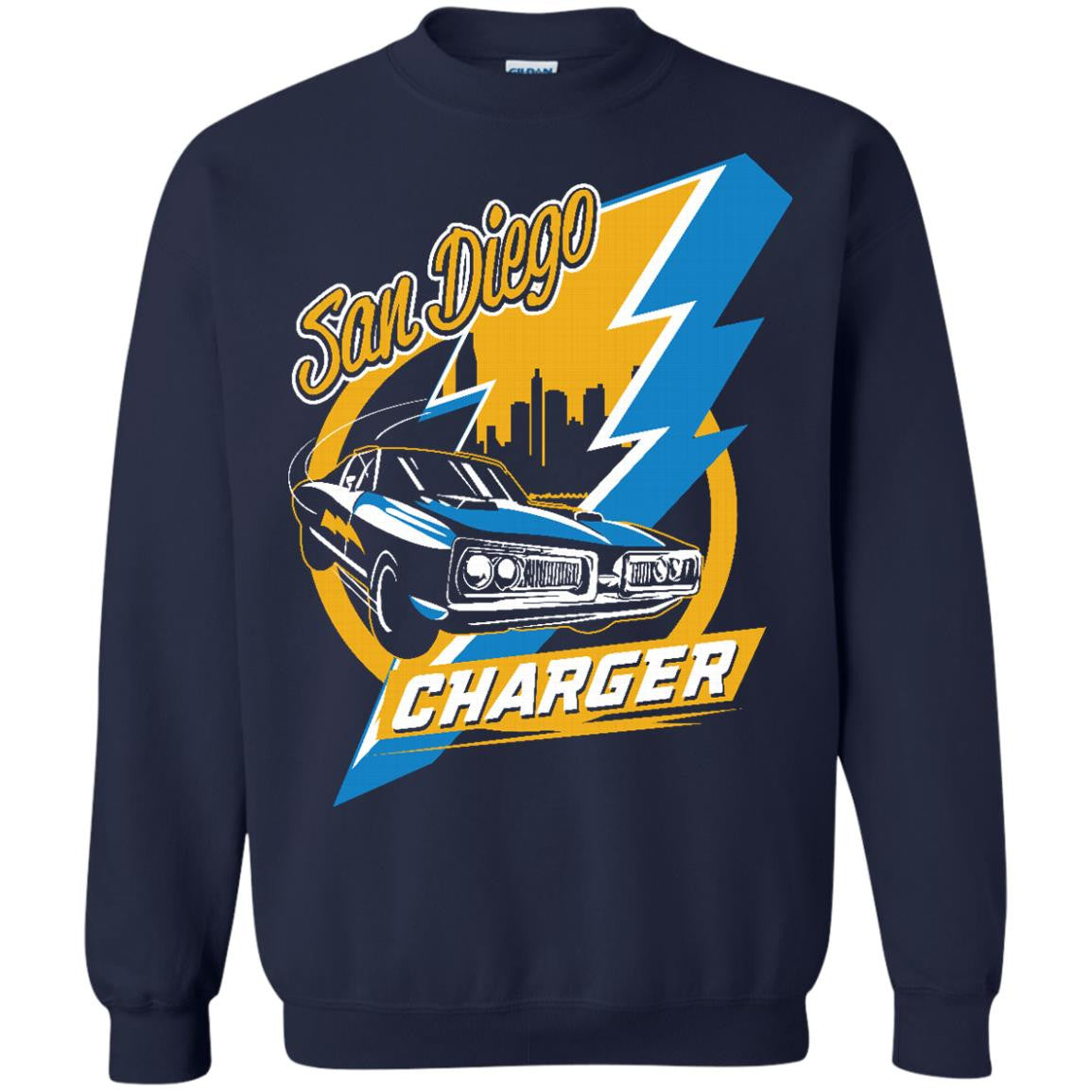 Los Angeles Chargers Shirts San Diego City Skyline T