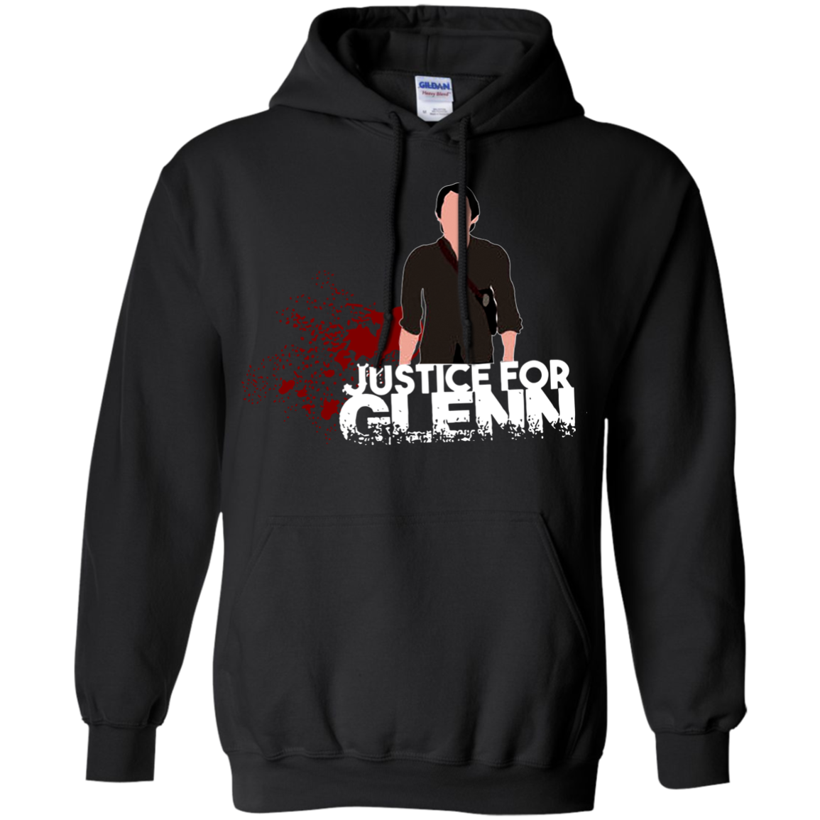 Justince For Glenn The Walking Dead T Shirt Hoodies