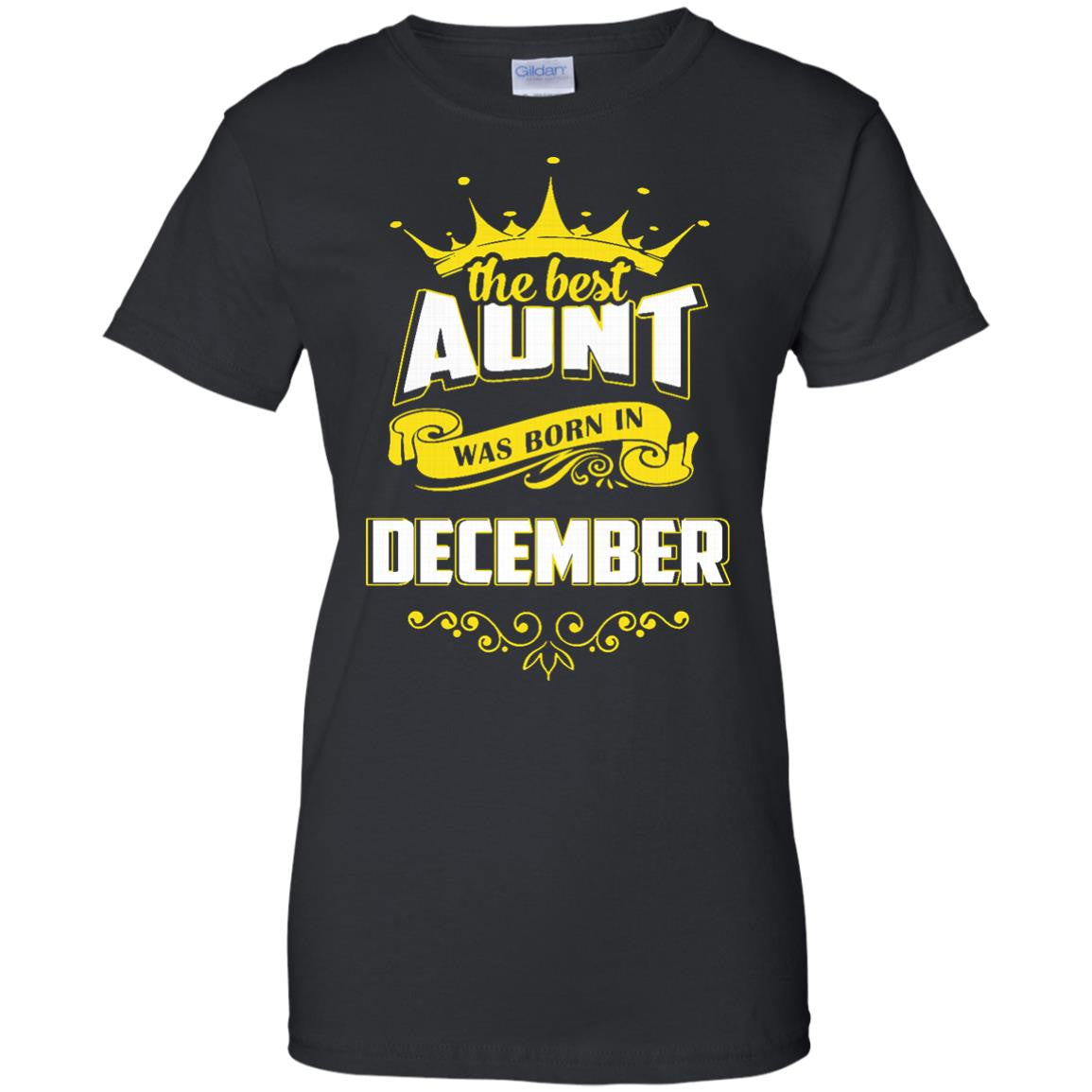 Aunt T-shirts The Best Aunt Was Born In December Hoodies Sweatshirts