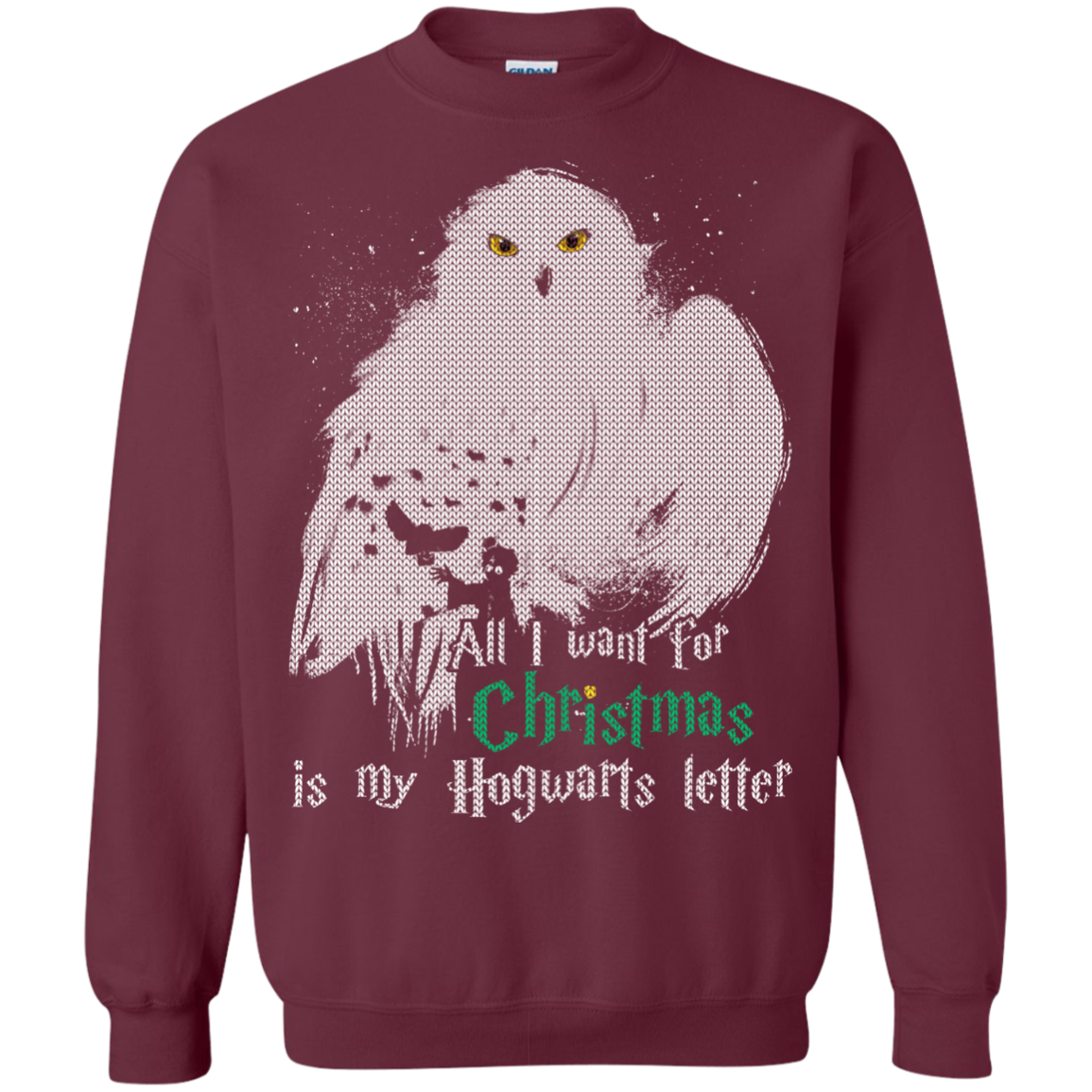 Christmas Ugly Sweater Harry Potter All I Want For Christmas Is My ...