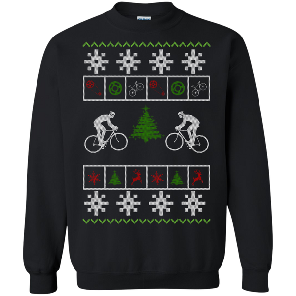 Christmas Ugly Sweater Cycling - Best Ugly Christmas Sweater Hoodies Sweatshirts
