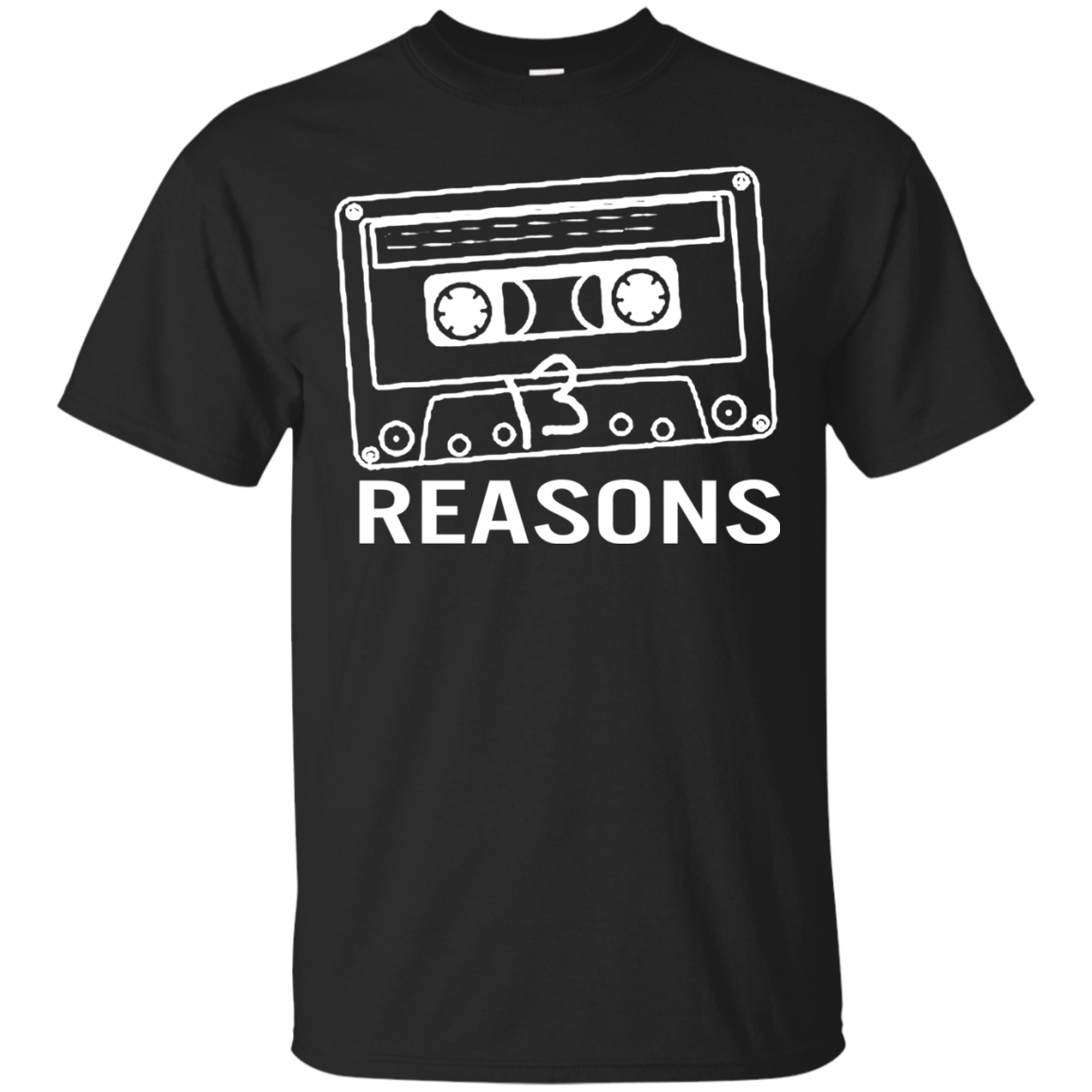 13 Reasons Why T shirts Tape Logo Hoodies Sweatshirts
