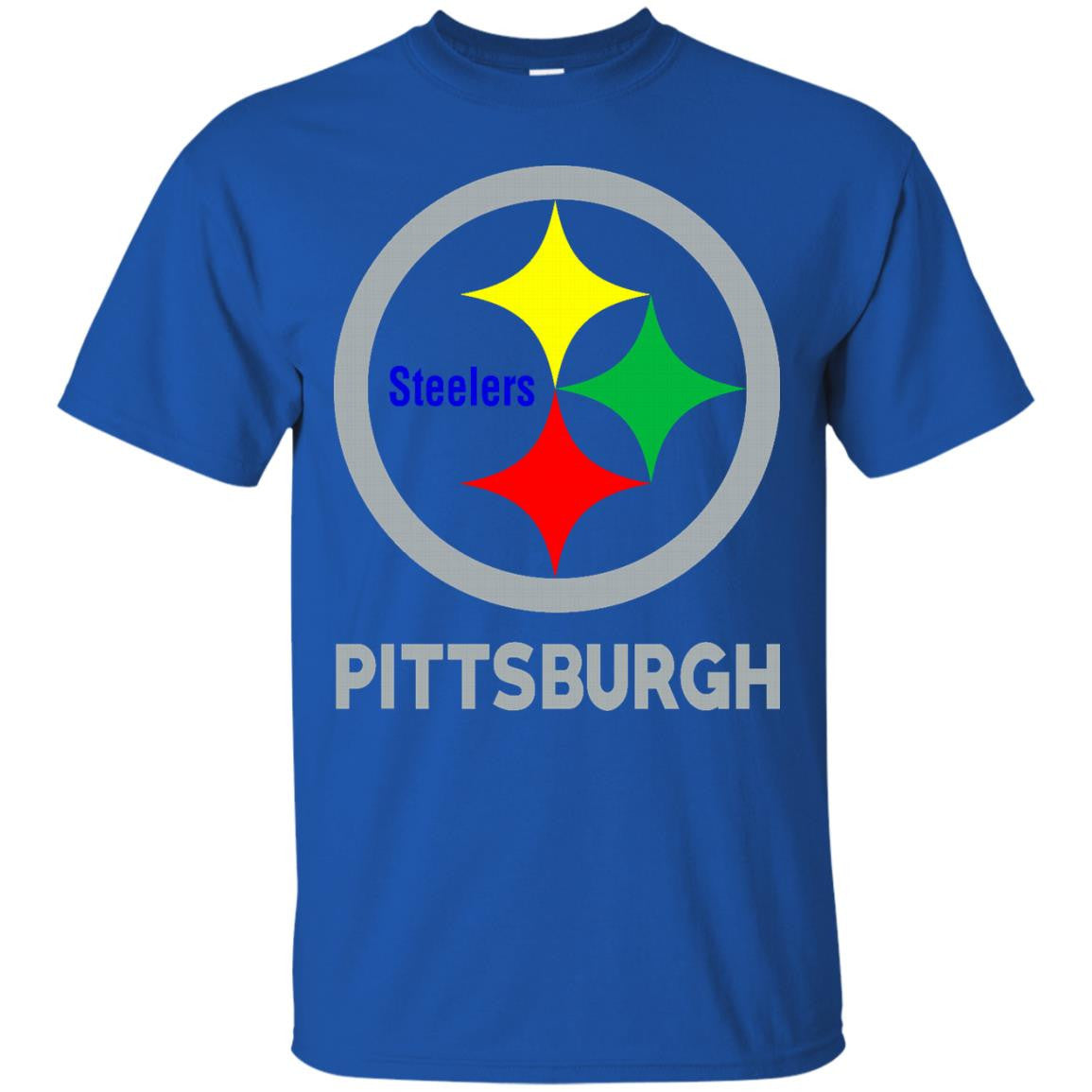 American Football Autism Shirts Pittsburgh Steelers T