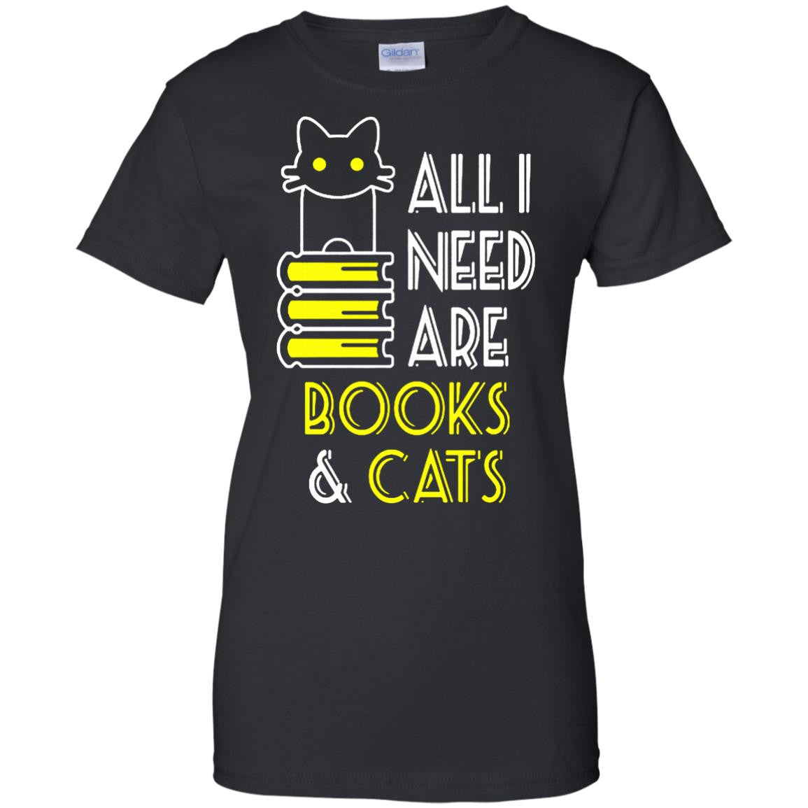 Pet Book Cats T Shirts All I Need Are Books Cats Shirts