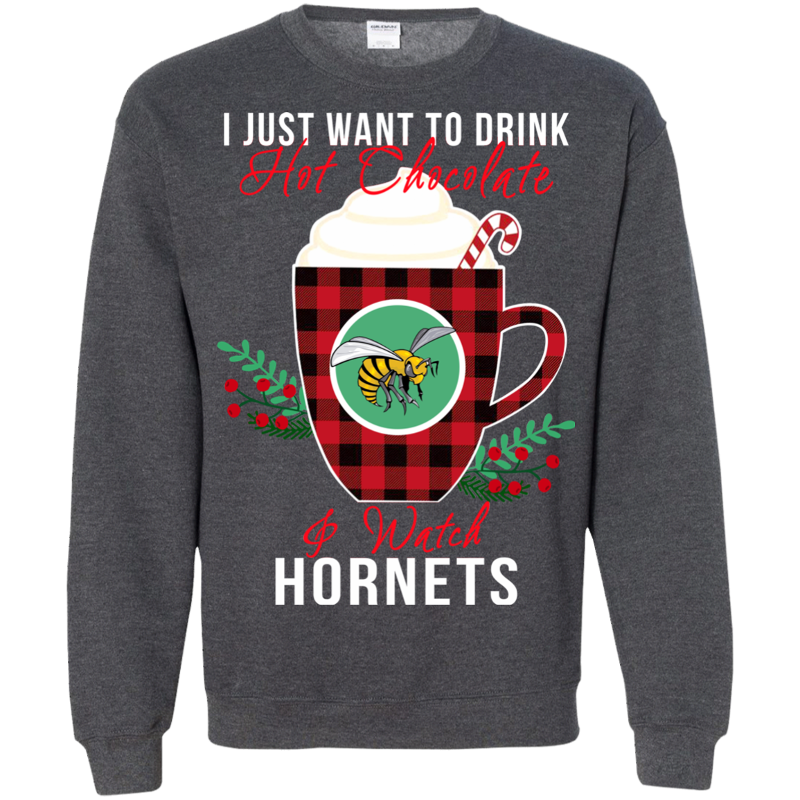 Alabama State Hornets Ugly Christmas Sweaters Just Drink Hot