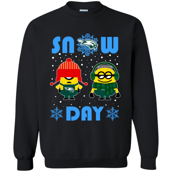 minion wagner seahawks christmas ugly sweater snow day snowflake sweatshirts - Seahawks Christmas Sweater