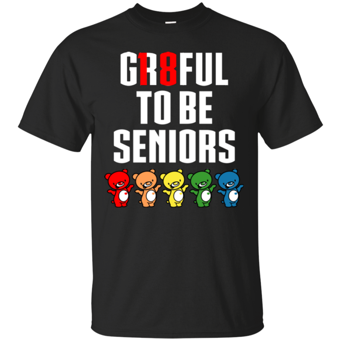 12th Grade  Senior Year T shirts Gr8ful To Be Seniors Hoodies Sweatshirts