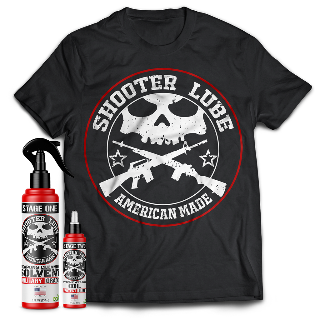 Shooter Lube Essentials Pack w/Shirt