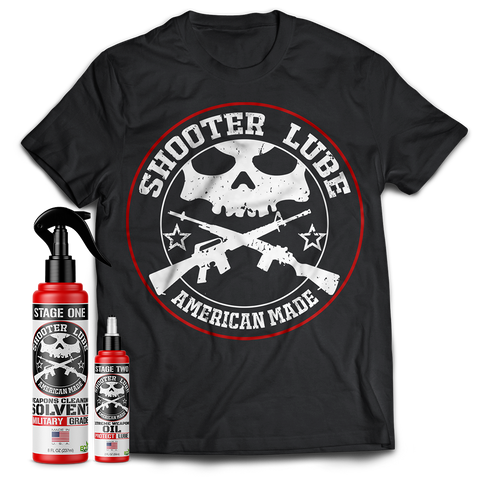 Image of Shooter Lube Essentials Pack w/Shirt
