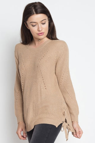 Toast Sweater Top