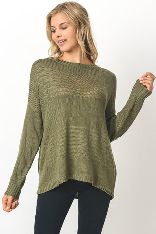 Olive Boat Top