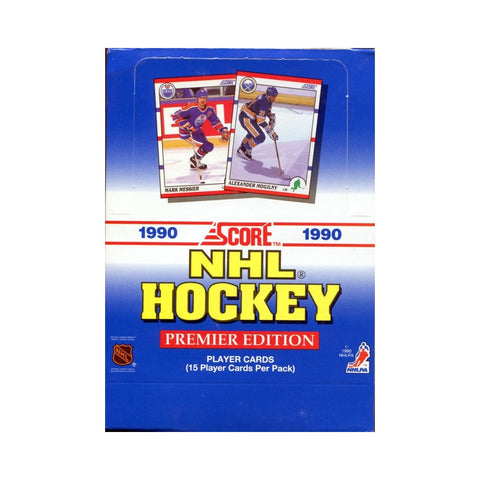 1990-91 Score American Hockey Box