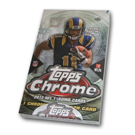 2013 Topps Chrome Football Box