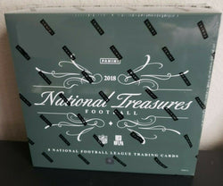 2018 Panini National Treasures Football Box