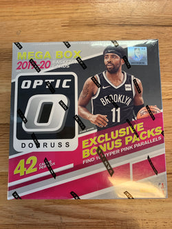 2019-20 Panini Optic Basketball Retail Mega Box
