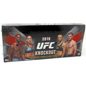 2019 Topps UFC Knockout Hobby 12-Box Case