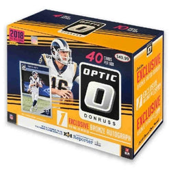 2018 Panini Optic Football Collectors Box