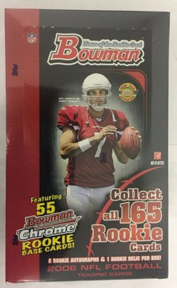 2006 Bowman Football Hobby Jumbo Box