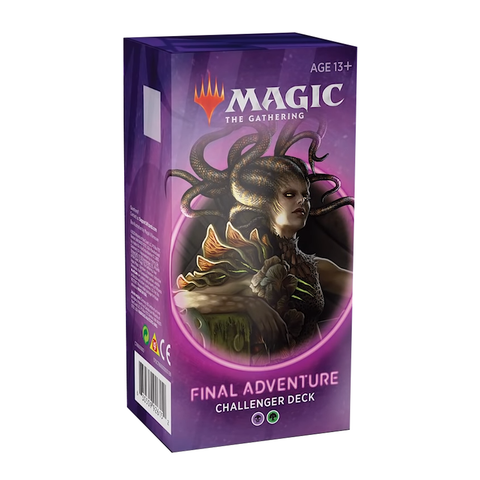 Magic The Gathering Challenger Deck 2020 - FINAL ADVENTURE