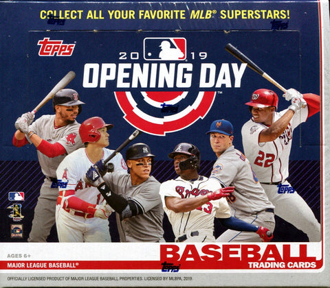 2019 Topps Opening Day Baseball 20-Box Case
