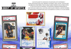 2020 Leaf Best of Sports Box - Multi Sports