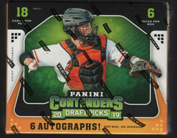 2019 Panini Contenders Draft Picks Baseball Box