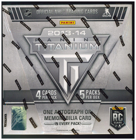 2013-14 Panini Titanium Hockey Box