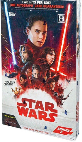 2018 Topps Star Wars The Last Jedi Series 2 Box