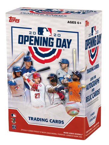 2020 Topps Opening Day Baseball Value Box (Blaster)