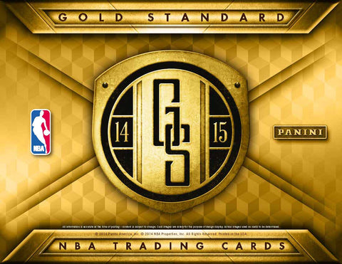 2014-15 Panini Gold Standard Basketball Box
