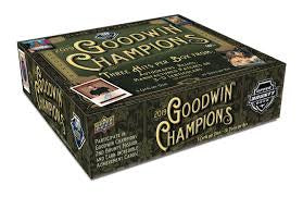 2019 Upper Deck Goodwin Champions 16-Box Case