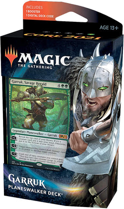 Magic The Gathering Core Set 2021 Planeswalker Deck - Garruk