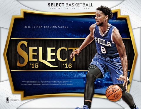 2015-16 Panini Select Basketball Box