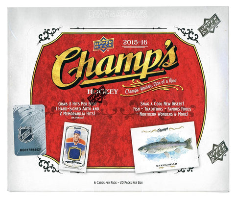 2015-16 Upper Deck Champs Hockey Box